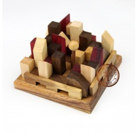 Puzzle 3D Miasto